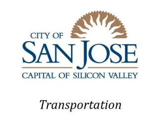 San Jose California DOT Logo image